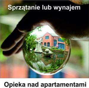 Sprzątanie apartamentów i mieszkań, opieka nad nieruchomościami